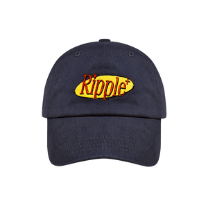Ripple's 100% Cotton Twill Navy Cap