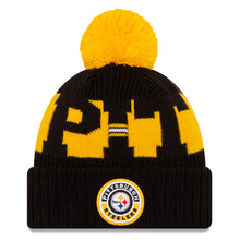 Load image into Gallery viewer, New era Pittsburgh steeler sport knits