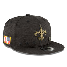 Load image into Gallery viewer, New era New Orleans Salute To Service snapback