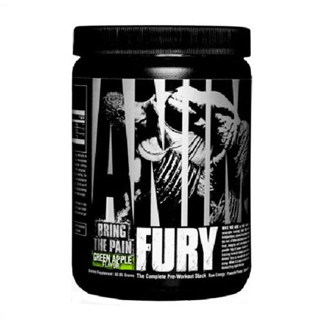 Animal Fury 496g Pre-workout
