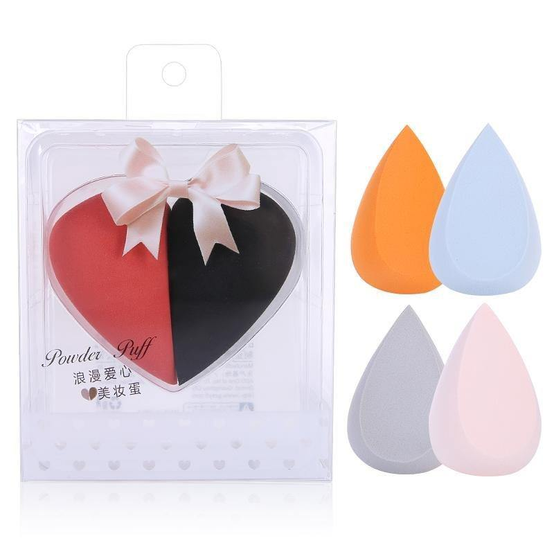 اسفنجة المكياج 2 قطع | makeup foundation makeup sponge 2 pcs - sooqaman