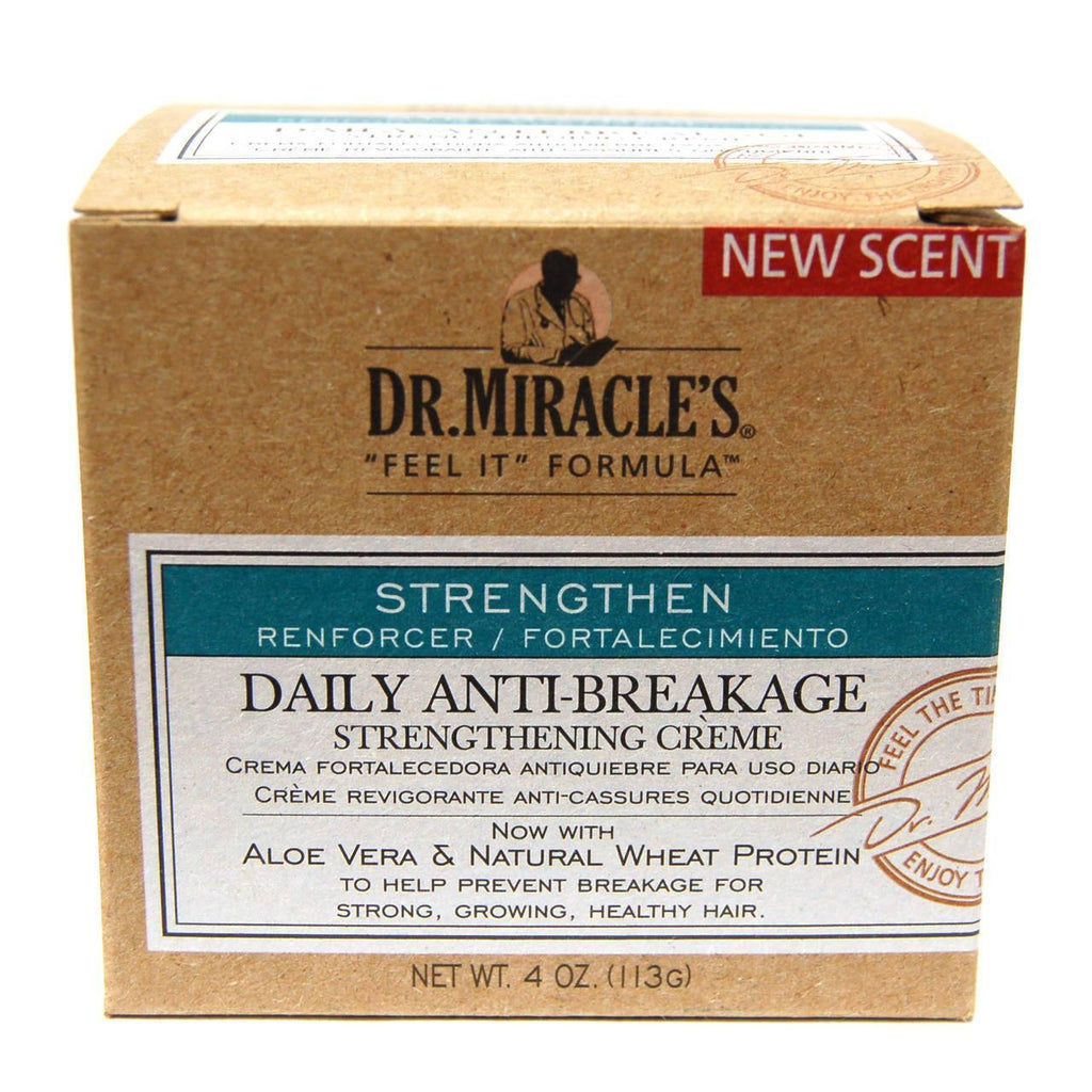 دكتور ميراكلز لتقوية الشعر 113g | Strengthen Daily Anti-Break Strength Creme 4oz 113g - sooqaman