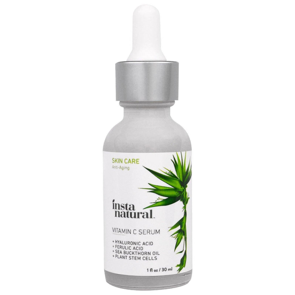 فيتامين سي سيرم  30ML | Vitamin C Serum with Hyaluronic Acid + Ferulic Acid 30ML - sooqaman