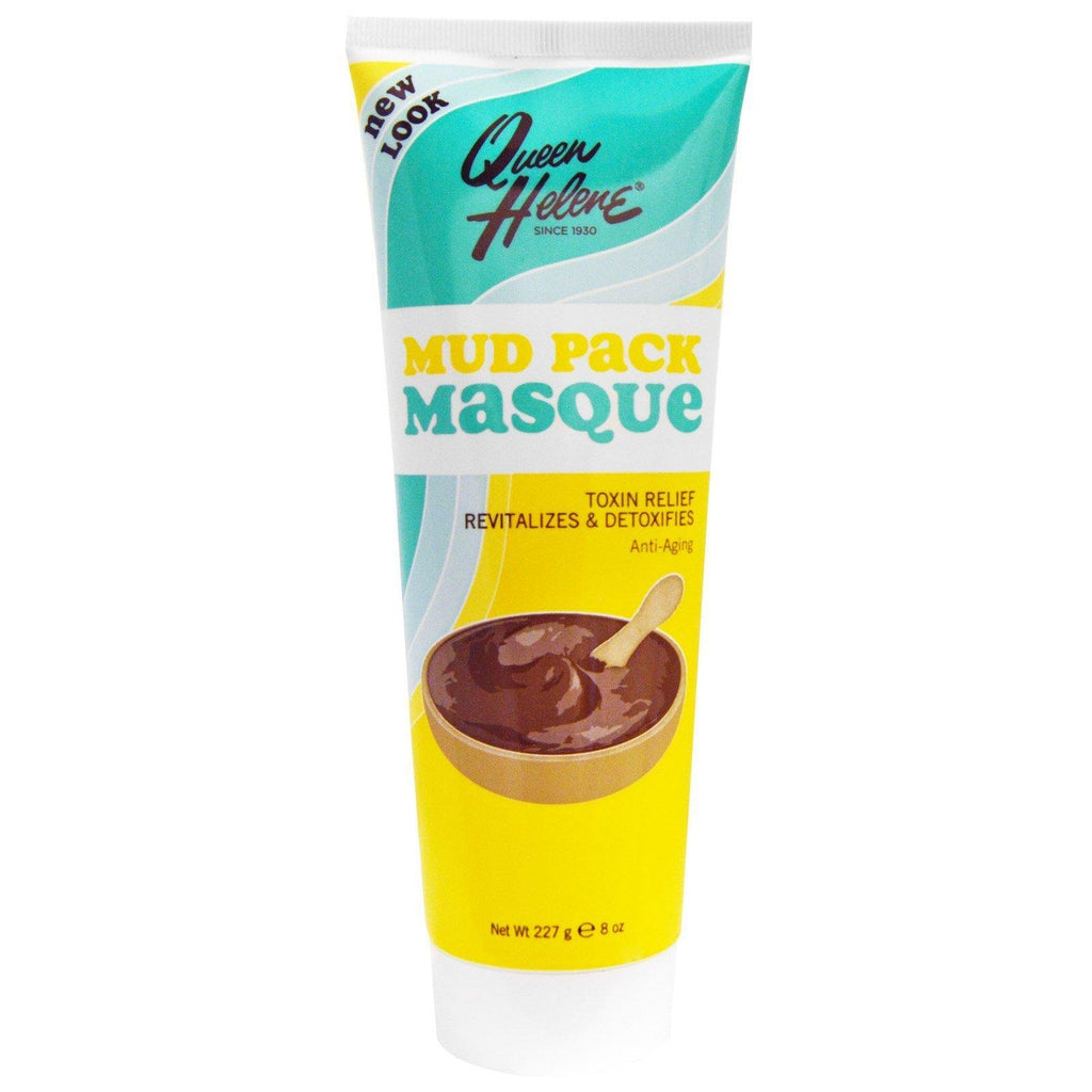 حزمة قناع الطين (227 غرام) | Mud Pack Masque, Toxin Relief, Anti-Aging (227 g) - sooqaman