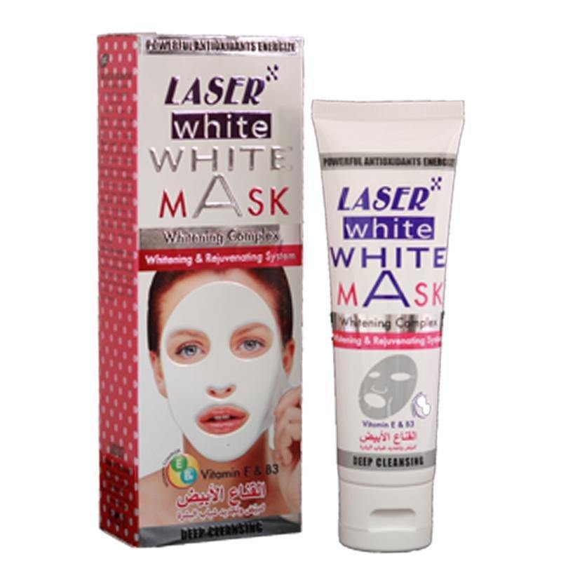 قناع أبيض  100ml | WHITE MASK 100ml - sooqaman