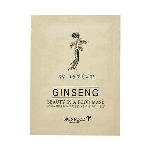 قناع الجينسينج- سكين فود - 18مل | SKINFOOD GINSENG MASK - 18ml - sooqaman