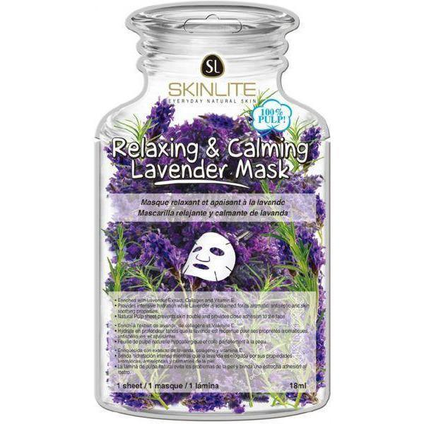 قناع اللفندر (الخزامى) - 18ج | relaxing and calming lavender mask - 18g | SKINLITE