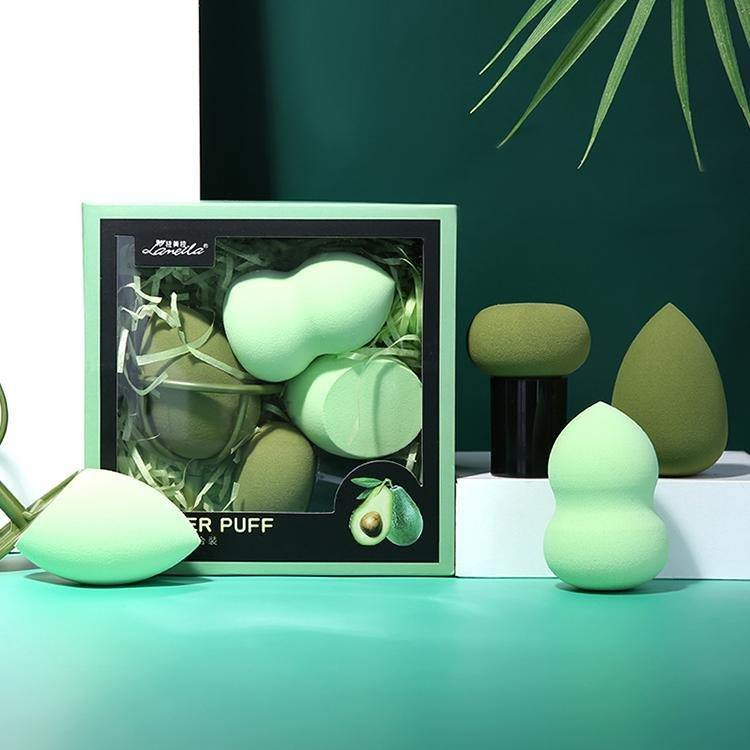 مجموعة اسفنجة المكياج 4 قطع | makeup foundation makeup sponge set 4 pcs - sooqaman