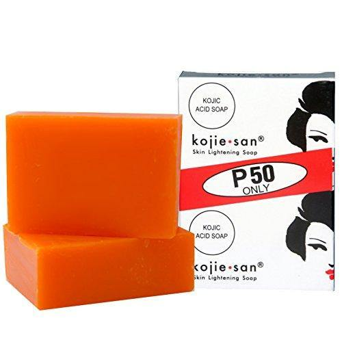 صابون التبييض كوجي سان X2 | Kojie San Lightening Soap - Pack of 2 65 Gram - sooqaman