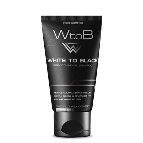 شامبو تسويد الشعر WtoB 50ML | WHITE TO BLACK SHAMPOO 50ML - sooqaman