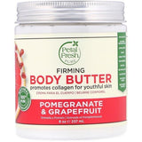 زبدة الجسم بالرمان والجريب فروت  237ml |  Body Butter, Pomegranate & Grapefruit, 8 Fluid Ounce 237ml - sooqaman