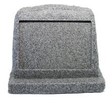 Load image into Gallery viewer, Small Grey Granite Marker   /   Personalized Colored Plaque