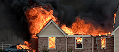 Your Home is on Fire — What to Do