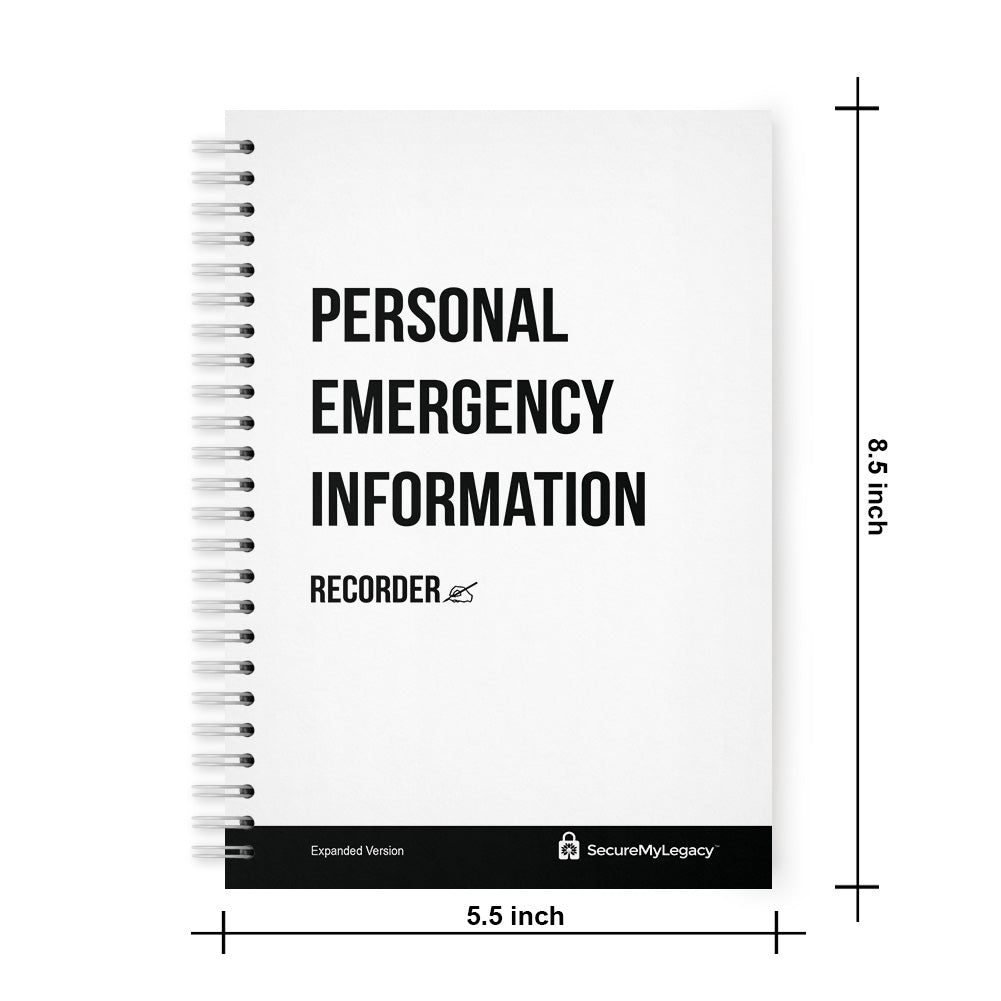 Reseller Kit (Includes 15 Personal Emergency Information Recorders + Counter Display)
