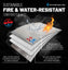 11 x 15 Waterproof & Fireproof Document Bag - Protect Legal Documents