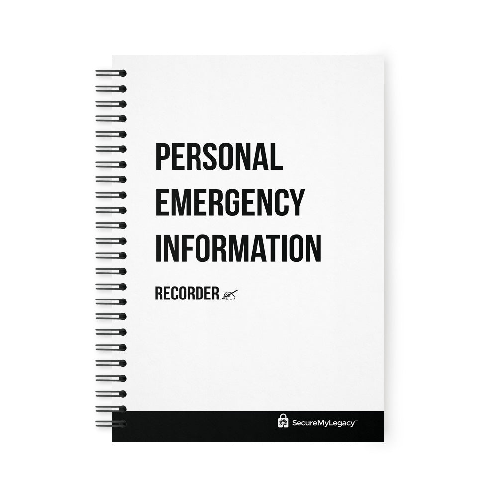 Personal Emergency Information Recorder (White)