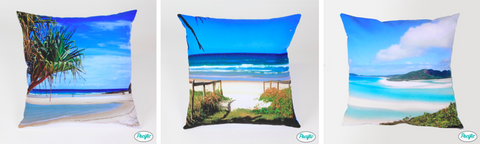 beach cushions by pacific pillow company