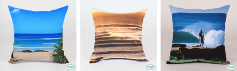 Kirra and Coolangatta cushions