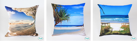 Currumbin and Palm Beach cushions