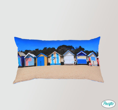 Oblong Beach Huts