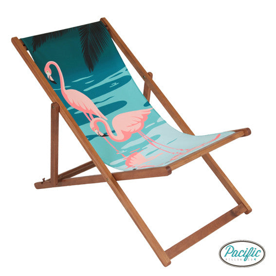 Pale Flamingo Deckchair