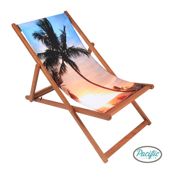 Palm Sunset Deckchair
