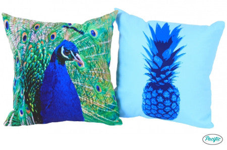 Peacock/ Blue Pineapple