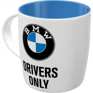 Kaffee-Tasse Keramik 0,33 l BMW Drivers Only