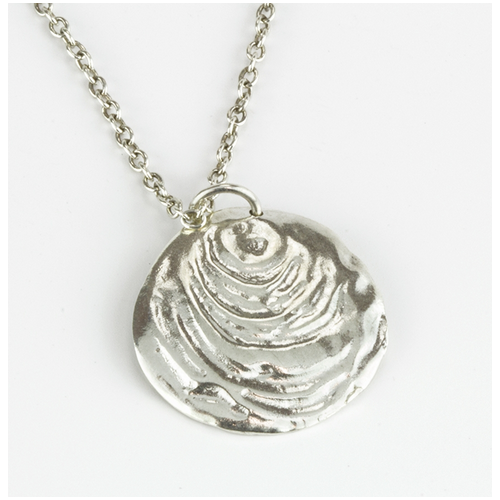 Clam Beach Necklace - Velvetblu Jewelry