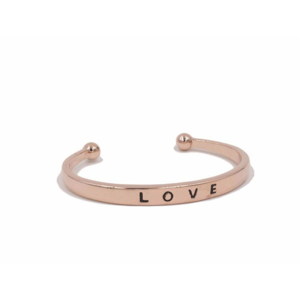 Love - Rose Gold Bracelet
