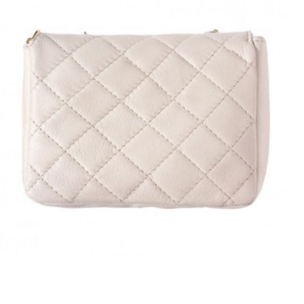 Quilted Leather Bag Back