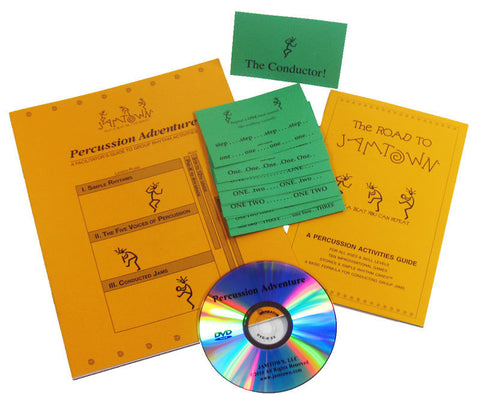 Percussion Adventure Instruction Set - F100