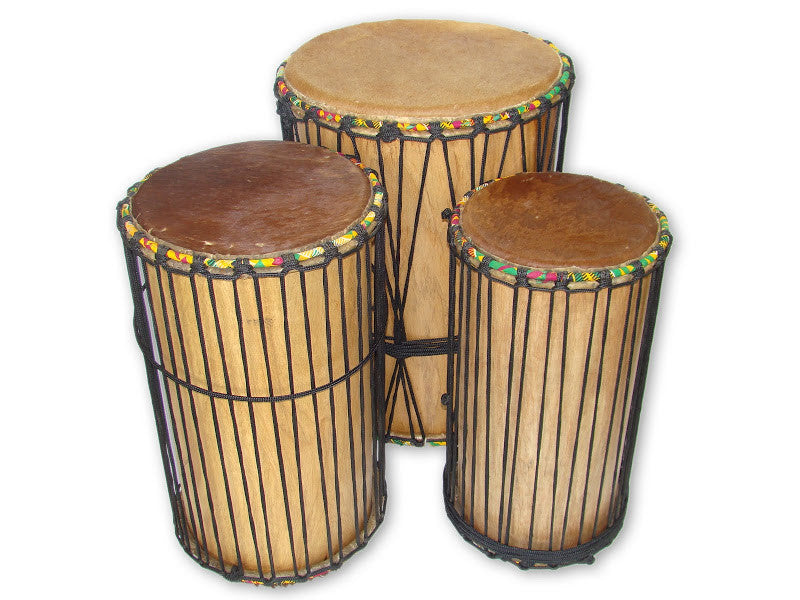 DunDun Three Drum Set - J0210