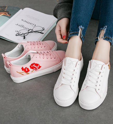 *Preorder Breille Floral Sneakers (more colors)