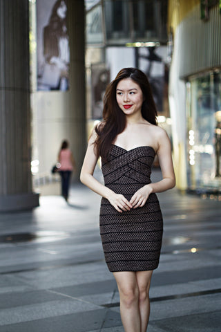 Shayden Bandage Dress (Black)