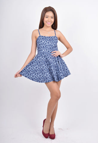 Alexa Playsuit in blue
