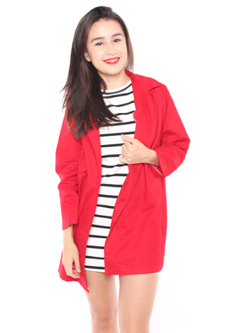 Pernille Coat (Red)