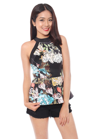 Naraia Top (Black)