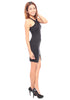 Valora Slit Dress (Black)