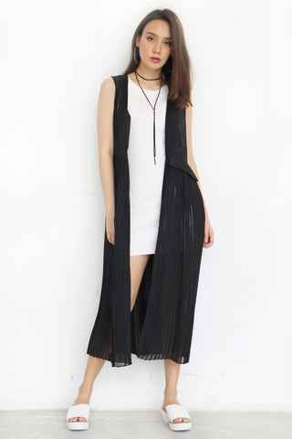 Astley Pleated Vest