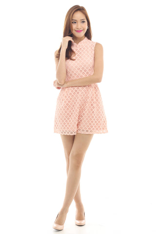 Xanthe Playsuit (Pink)
