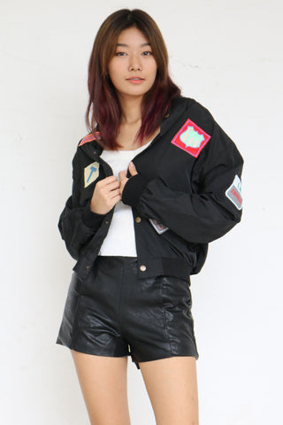 Lykes Patch Bomber (Black)