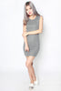 Carola Knit Dress (Grey)