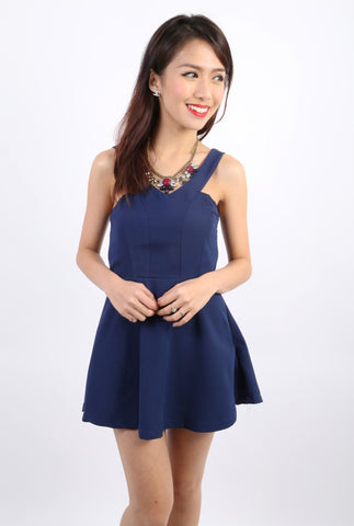 Mitcheson Playsuit (Navy Blue)