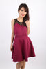 Maddie Dress (Magenta)