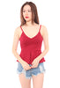 Elyn Peplum Top (Red)