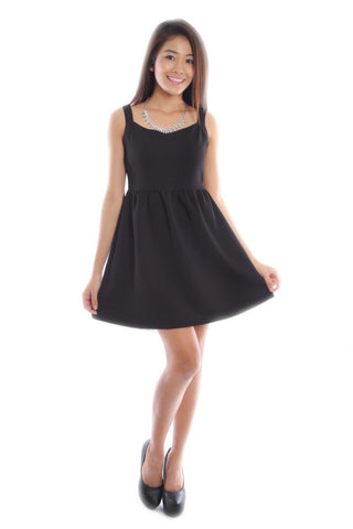 Janelle Dress in black