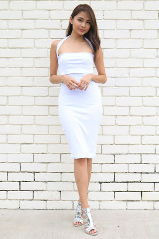 Della Dress (White)