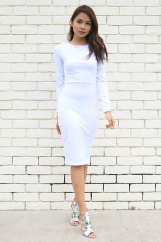Sadika Dress (White)