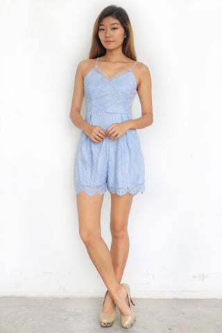 Darosia Lace Playsuit